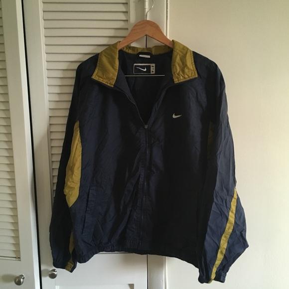 984370bdbb90 ... gold vintage vtg Nike Windbreaker. M 5a74e4ea45b30cb5c9ae4457
